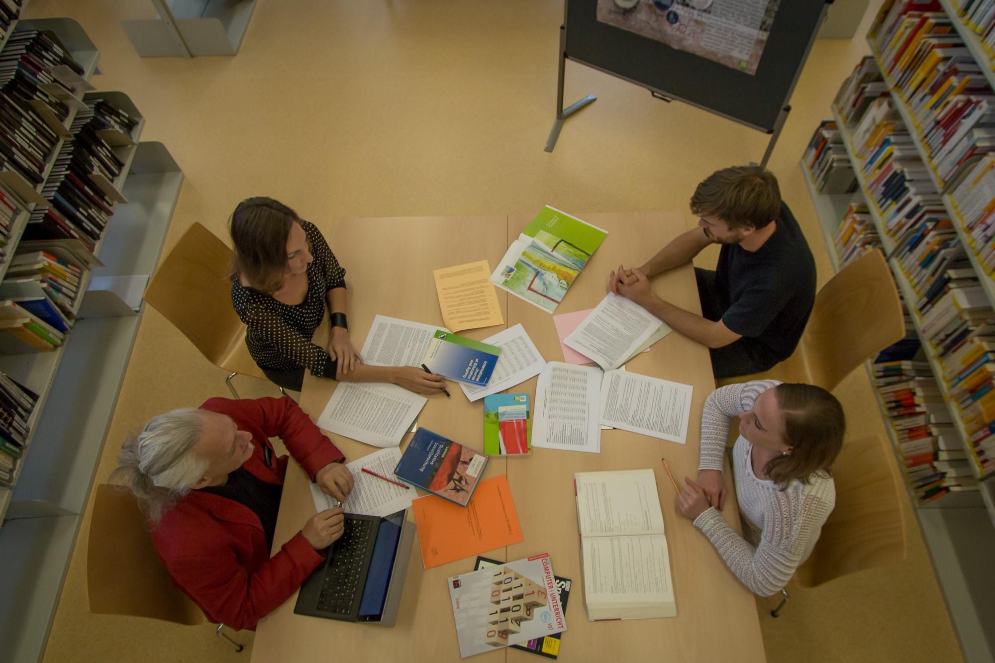 Campus-der-Relgionen-2019-Foto: (c) Sabine Aßmann, Die KPH-Bibliothek auf dem Campus Wien-Strebersdorf