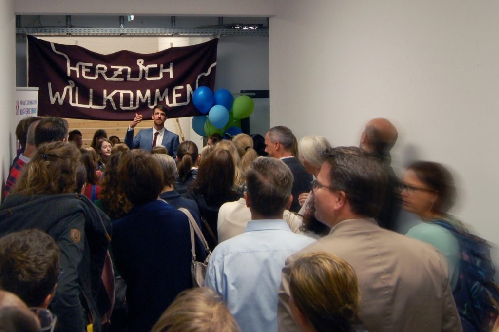 Schulstart im privaten Gymnasium Klosterneuburg 2019-© Schulstiftung / Michaela Waldherr