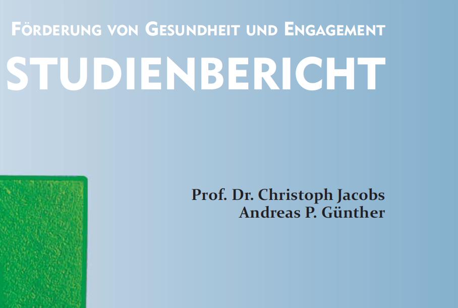 Beitrag Foerderung von Gesundheit und Engagement Studienbericht Cover 2019 ©-erzbischoefliches-amt-für-schule-und-bildung-edw