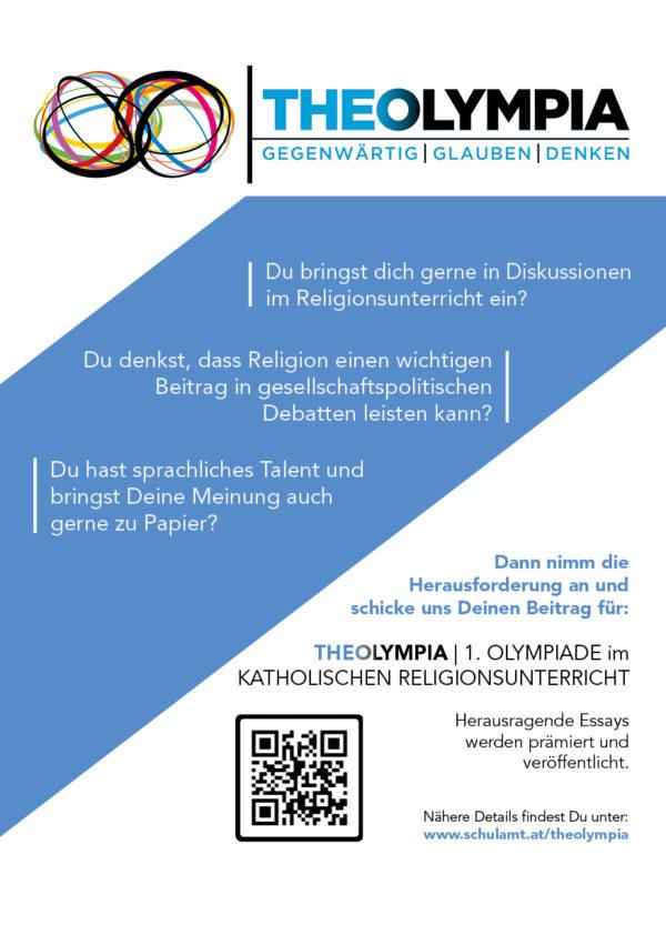 Teaser Theolympiada Schulamt der ED Wien 2020